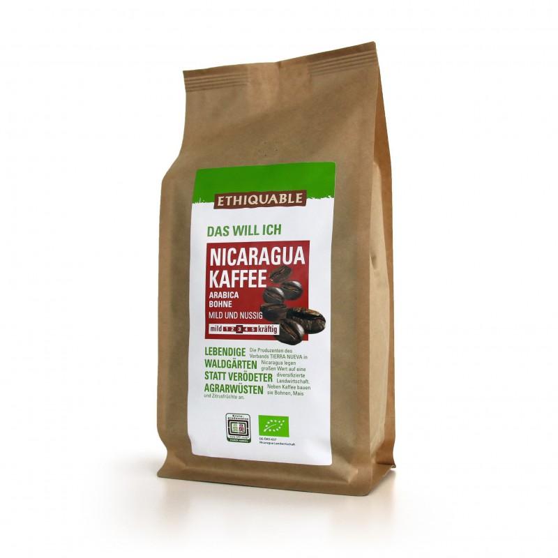 Nicaragua Kaffee ganze Bohne, 1kg