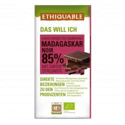 Noir 85% Kakao Madagaskar, 100g