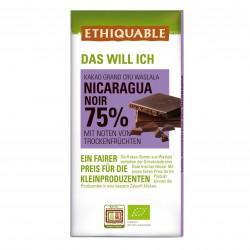 Noir 75% Kakao Nicaragua, 100g