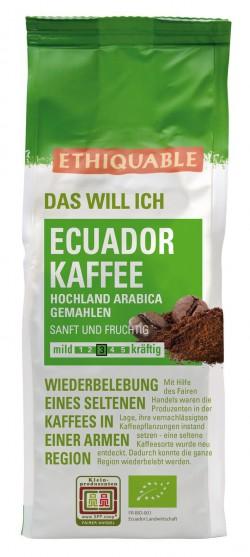 Ecuador Kaffee gemahlen, 250g