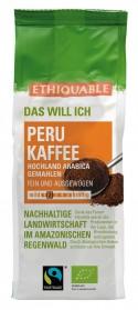 Peru Kaffee gemahlen