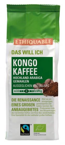 Kongo Kaffee gemahlen, 250g
