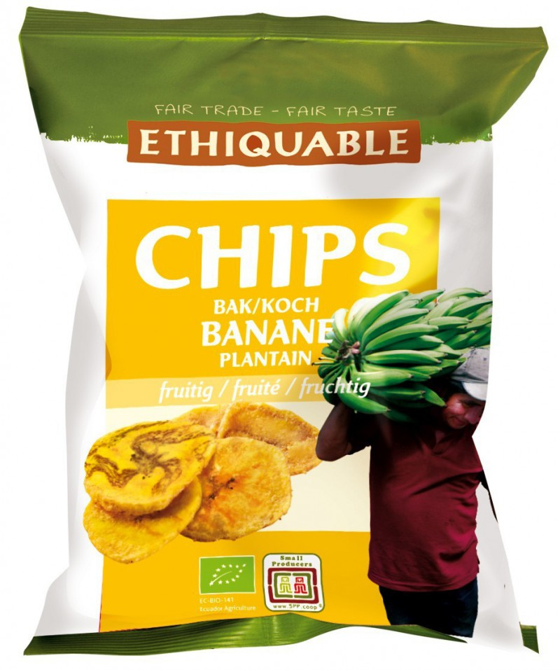 Bananenchips fruchtig
