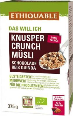 Müsli Knusper Crunch
