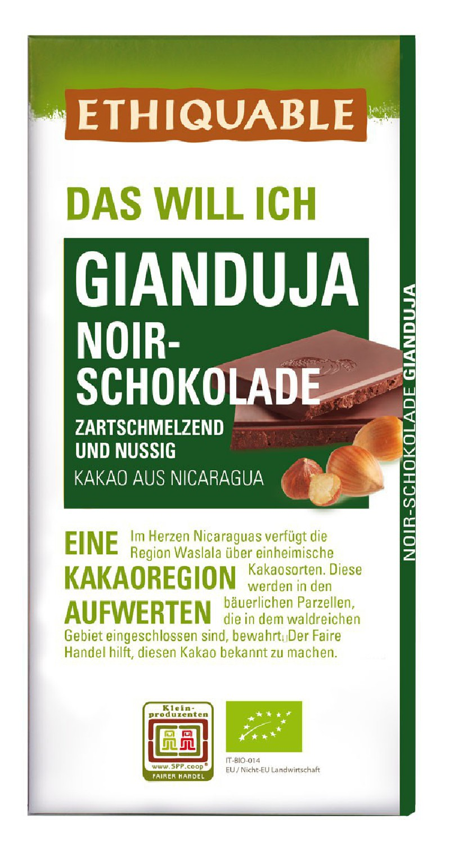 Noir-Schokolade Rohkakao 70% Ecuador, 80g