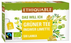 Grüner Tee Ingwer Limette
