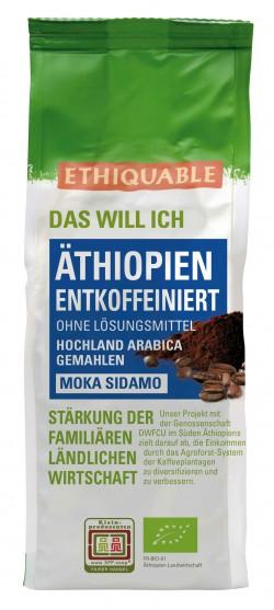 Äthiopien Entkoffeinierter Kaffee gemahlen, 250g