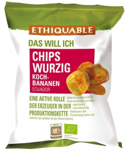 Bananenchips würzig, 85g