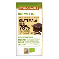 Noir 78 % Guatemala, 100g