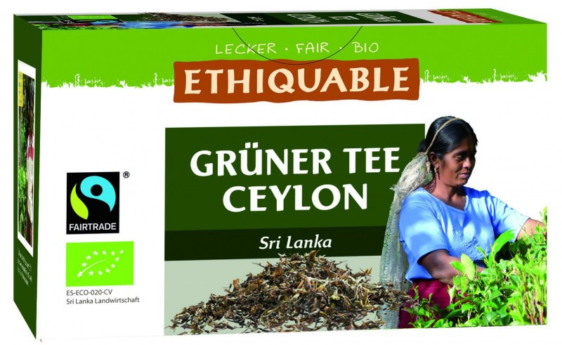 Grüner Ceylon Tee