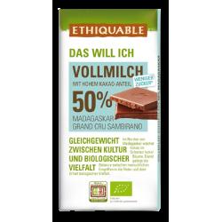 Vollmilch 50% Kakao, 100g